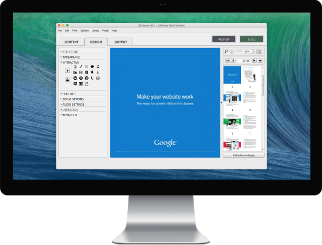 Interactive editor
