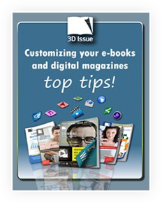 3D Issue ebook personalizacion