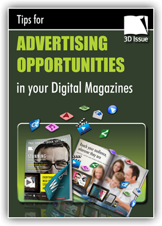Digital magazine advertising opportunities