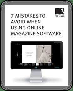 Errores a evitar al utilizar un software de publicación digital