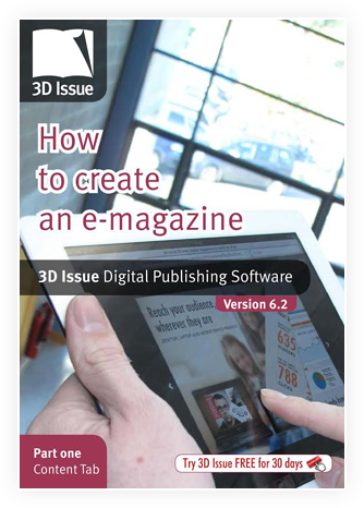 3D Issue user guide content tab
