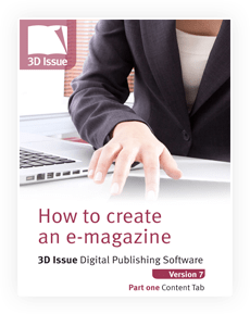 how to create an e-magazine part 1