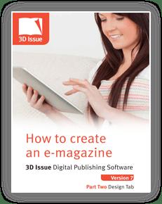 3D Issue guia usuario pestaña diseño