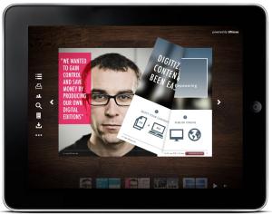 como crear revistas digitales para ipad