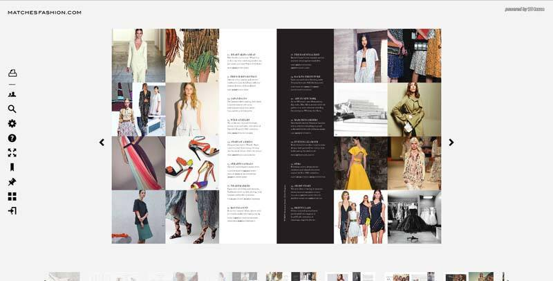 digital magazine pages