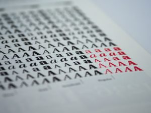 Tips on typefaces